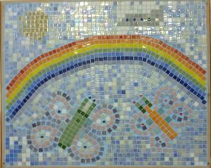 Mosaic Rainbow St Jospephs