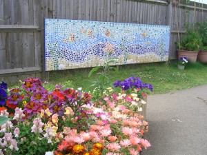 The Community Centre mosaic Denton Island, Newhaven